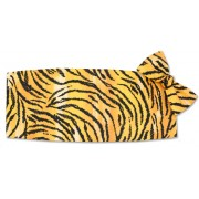 Tiger Stripes Cummerbund and Bow Tie