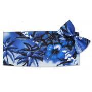 Blue Hawaiian Cummerbund and Tie