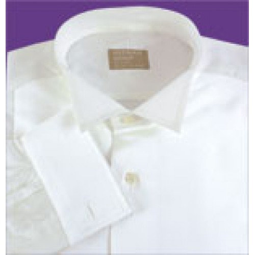 Gitman Wing Tip Collar Piqué Bib Front Tuxedo Shirt