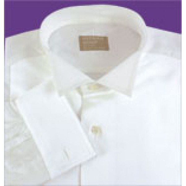 4a7d5c97e Gitman Wing Tip Collar Piqué Bib Front Tuxedo Shirt