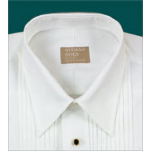 Gitman Lay Down Point Collar Tuxedo Shirt