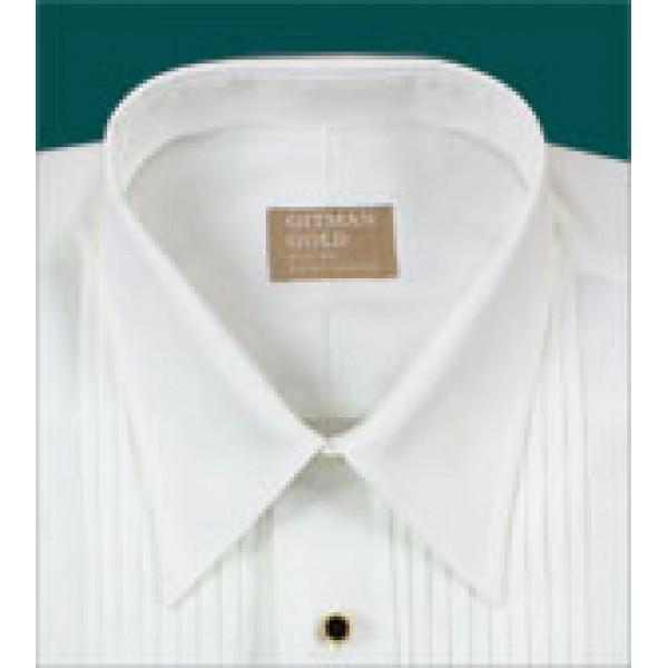 Gitman Lay Down Point Collar Tuxedo Shirt