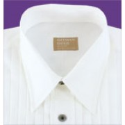 Gitman Lay Down Collar Tuxedo Shirt
