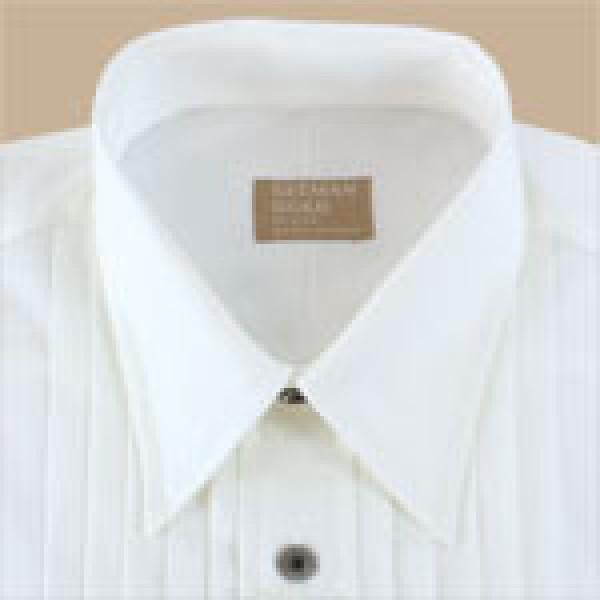 Gitman Big And Tall Lay Down Collar Tuxedo Shirt