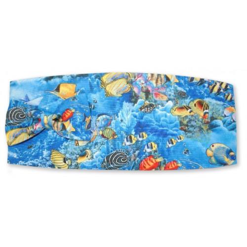 Great Barrier Reef Cummerbund and Tie