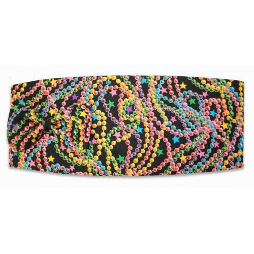 Big Easy Beads Mardi Gras Cummerbund and Tie