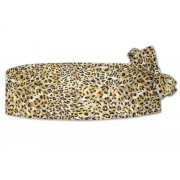 Leopard Cummerbund and Bow Tie Set