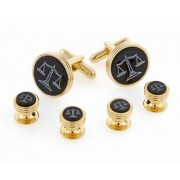 Legal Scales Cufflinks and Studs