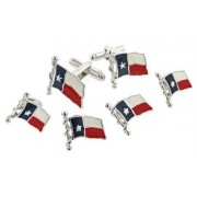 Texas Flag Cufflinks and Studs