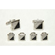 Soho Cufflinks and Studs