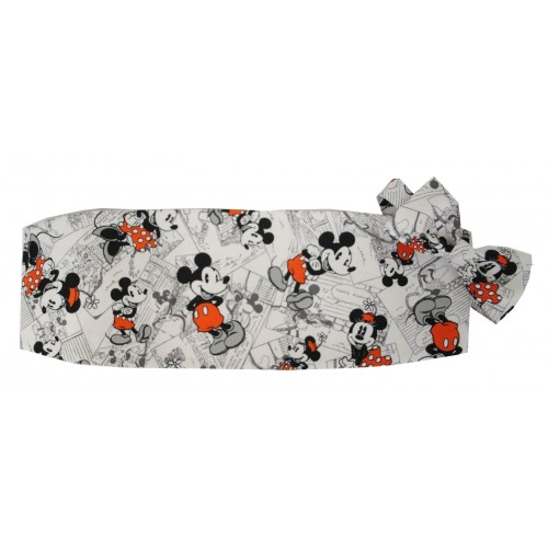 Mickey and Minnie Mouse Cummerbund and Bow Tie Set