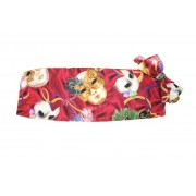 Mardi Gras Phantom Mask Cummerbund and Bow Tie Set