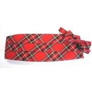 Royal Stewart Holiday Tartan Plaid Cummerbund and Bow Tie
