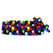 Balloons Cummerbund and Tie
