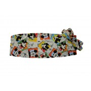 Mickey Mouse Comic Strip Cummerbund and Tie Set