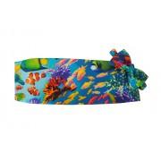 Tropical Coral Reef Cummerbund and Bow Tie Set
