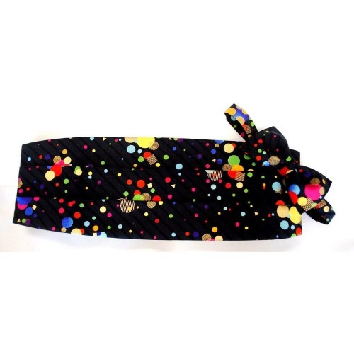 Dots Cummerbund and Tie