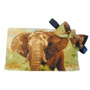 Elephant on Safari Cummerbund and Tie Set