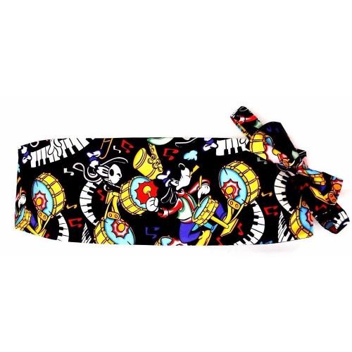 Goofy One-Man Band Cummerbund Cummerbund and Bow Tie Set