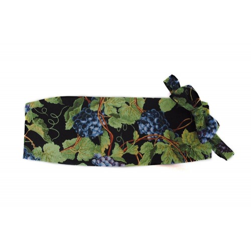Napa Valley Grapes Cummerbund and Bow Tie Set
