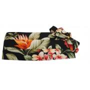 Hawaiian Awaphu, Kokio, Plumeria Floral Paradise Tuxedo Cummerbund and Bow Tie