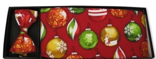 Holly Jolly Christmas Cummerbund and Tie