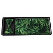 Cannabis Bliss Cummerbund and Bow Tie