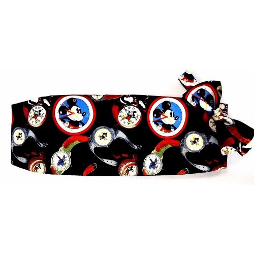 Mickey Mouse Watches Cummerbund and Bow Tie Set