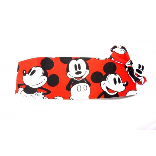 Iconic Mickey Mouse Cummerbund and Bow Tie Set
