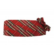 Plaid Cummerbund and Bow Tie Set