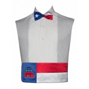 Vote Republican Cummerbund and Bow Tie Set