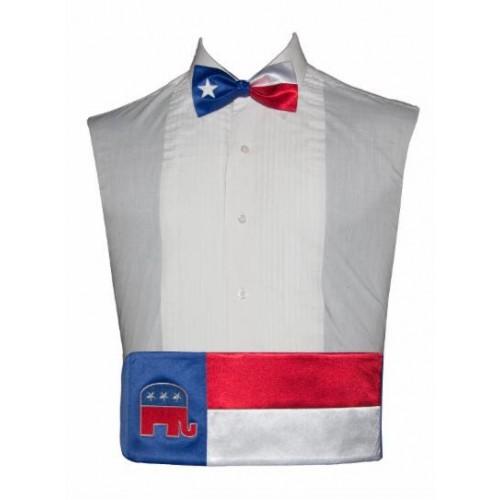 Vote Republican Cummerbund and Bow Tie Set