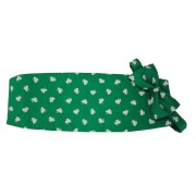 Saint Patrick's Shamrocks Cummerbund and Tie Set