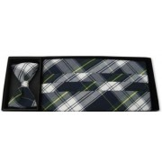 Stafford Plaid Cummerbund and Tie
