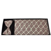 Sussex Plaid Cummerbund and Bow Tie Set