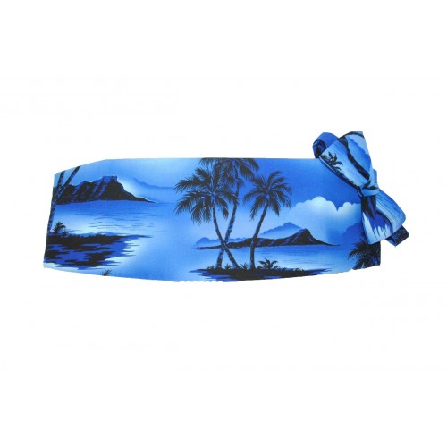 Tradewinds Cummerbund and Bow Tie Set