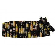 Wine Cummerbund and Tie Set