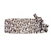 Zebra Herd Cummerbund and Tie Set