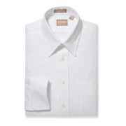 Gitman Point Collar Pinpoint Cotton French Cuff Dress Shirt