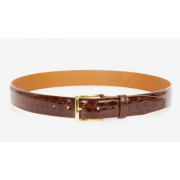 Trafalgar Newington Crocodile Belt