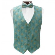 French Quarter Mardi Gras Vest and Tie Set