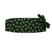 Irish Magical Shamrocks Cummerbund and Bow Tie