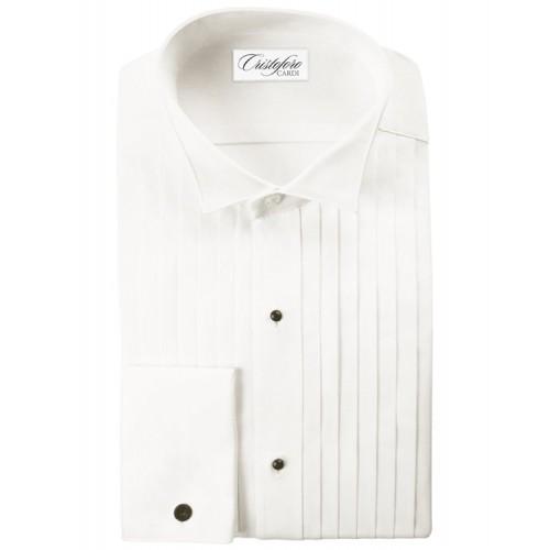 "Cristoforo 1/2"" Pleated Wingtip Collar"