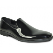 Formal Patent Slip On Loafer Tuxedo Shoes