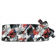 Spiderman cummerbund and bow tie set