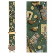 Limited Edition Vintage Golf Brace: 100% Woven Silk
