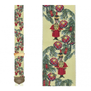 Limited Edition Memories of Christmas Brace: 100% Woven Silk