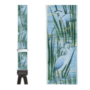 Limited Edition Herons Way Brace: 100% Woven Silk
