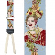 Limited Edition Brazilian Bombshell Brace: 100% Woven Silk