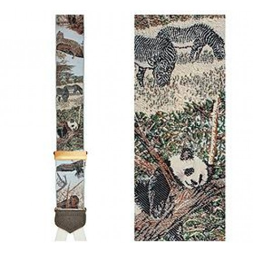 Limited Edition Endangered Species Brace: 100% Woven Silk